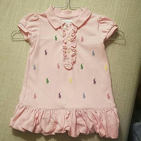 010fc506b Baby girl Ralph Lauren pink Polo dress - 6 months.  M_5b4c27bebb7615d4194c51b8